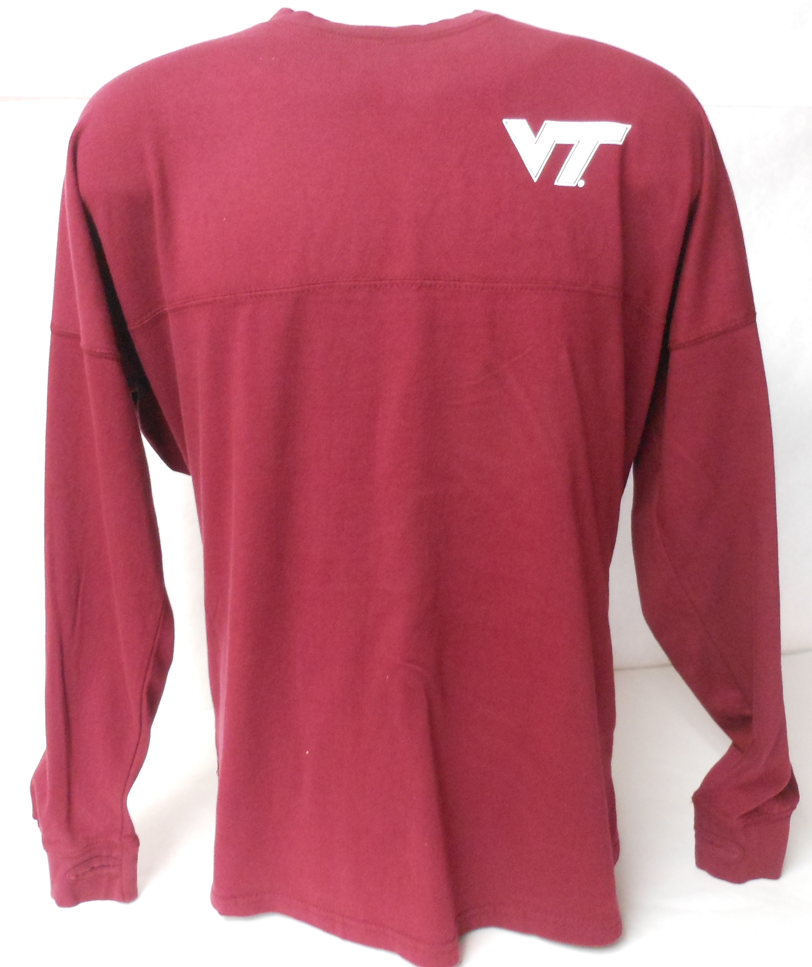 Virginia Tech Hokies Womens Shirt Maroon Image a